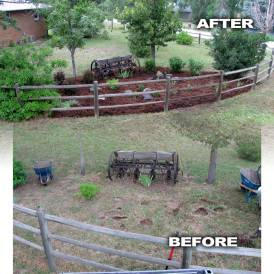Antique Corn Rower Featured Before and After