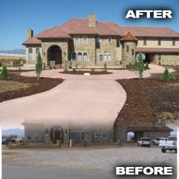 Castle Before and After