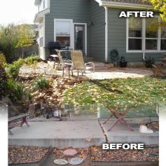 Featured Patio Before and After