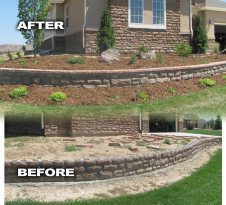 Corner of Home Before and After