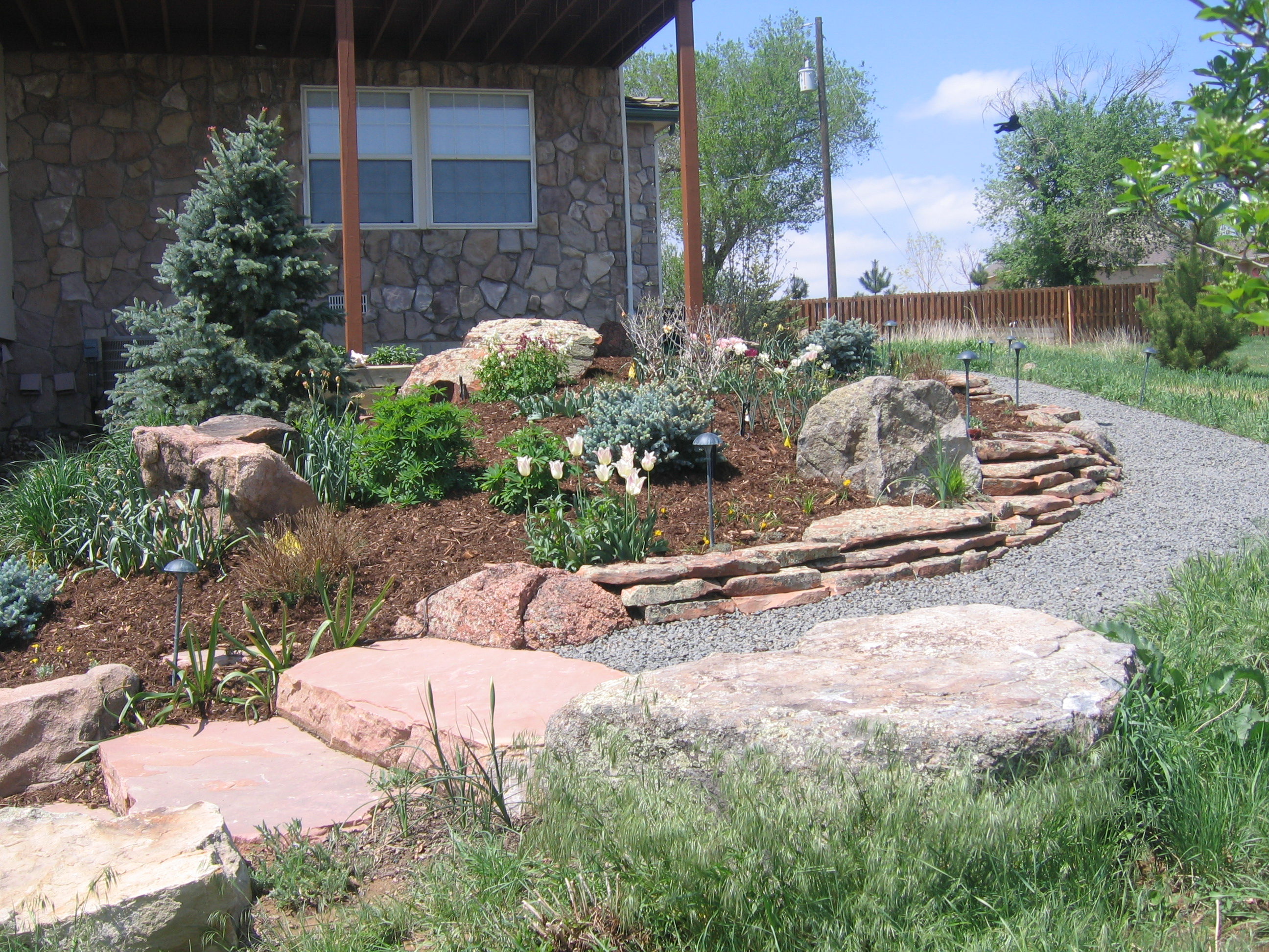 Our Boulder Area Landscaping Projects Glacier View