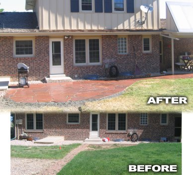 Before and After Landscape Showcase