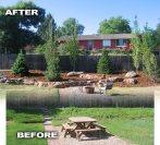 Before and After Landscape Makeover