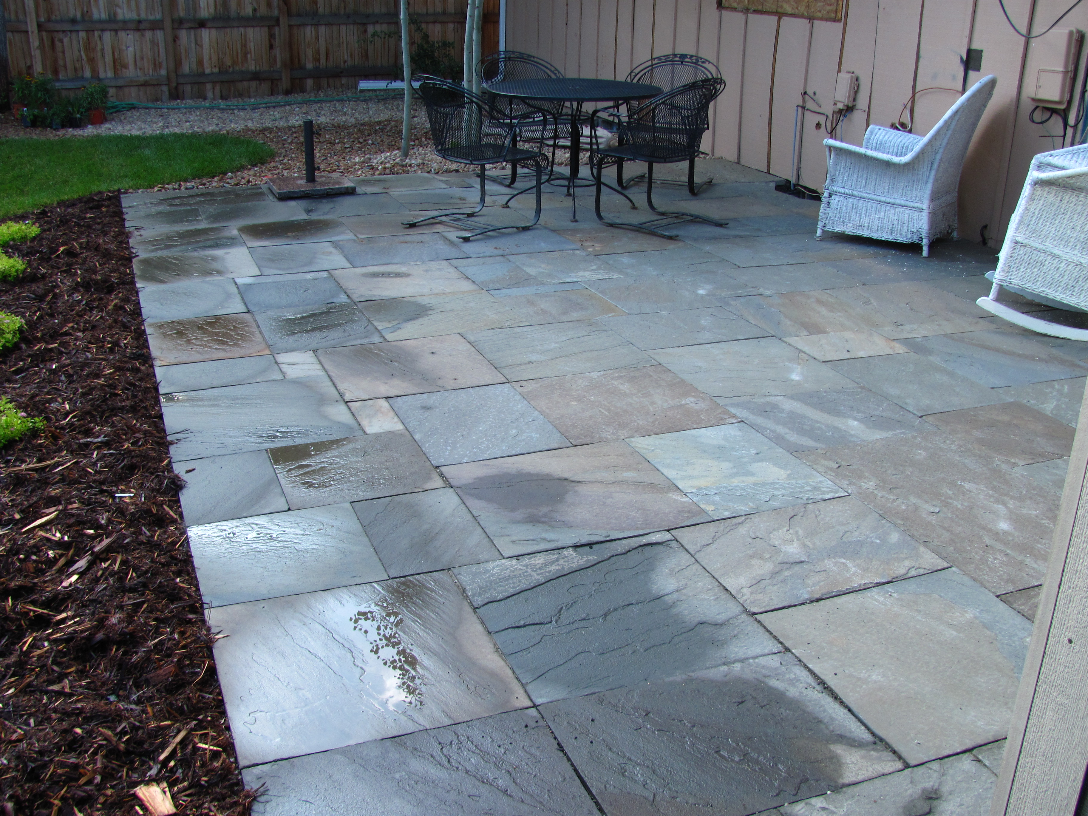 New landscapes glacier view landscape and design inc for Bluestone porch