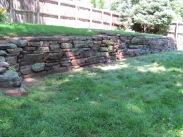 Moss Rock Wall