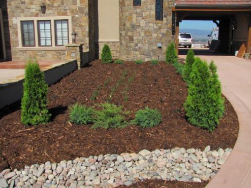 Castle Phase 1 Landscape Portico