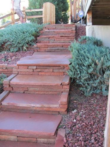 Random Flagstone Stairs
