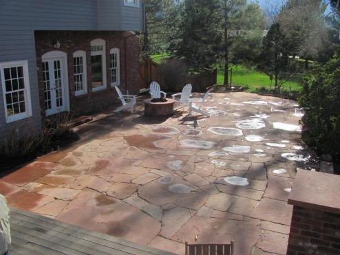 Completed patio looks so good