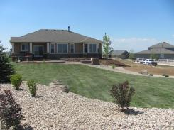 Brighton Colorado New Landscaper Back Yard New Install