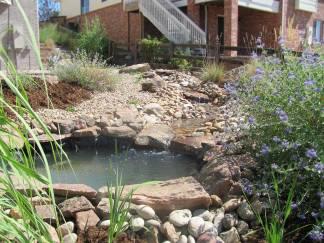 Pond With Stream
