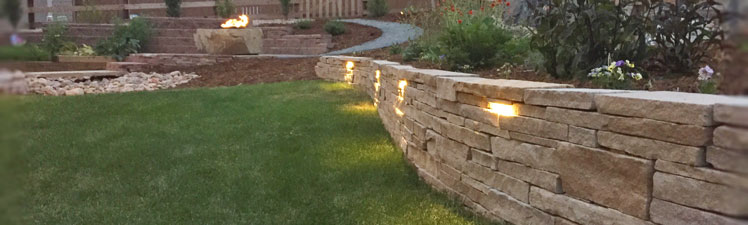 Landscaping install near Arvada, CO