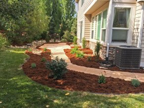 We're proud of this garden design near Lafayette CO