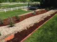 Garden design project located in Broomfield, Colorado