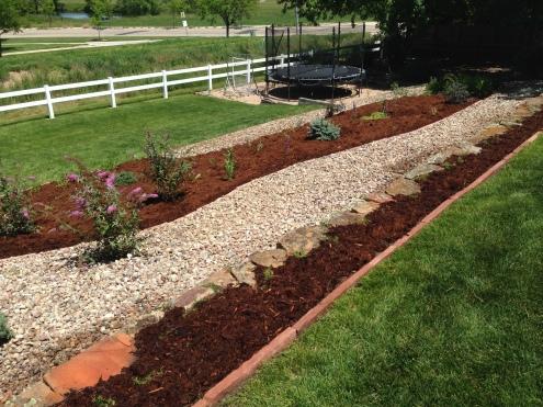 Garden design project located in Broomfield, Colorado