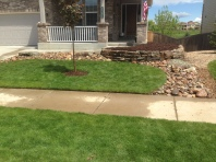 Another Erie, CO landscaping project by Glacier View Landscape
