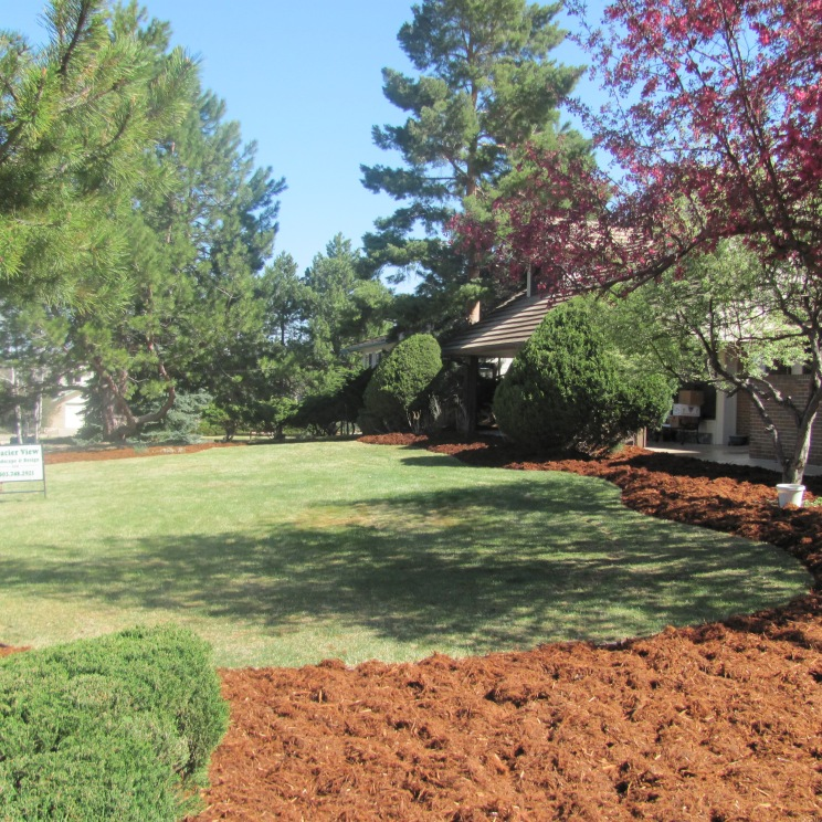 Less Sod, More Mulch!