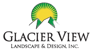 logo for Glacier View Landscape of Erie and Boulder Colorado