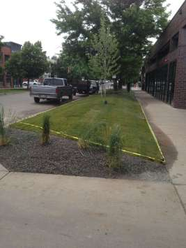 Commercial Streetscape Makeover Boulder