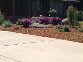 Garden design landscaping project near Lafayette, CO