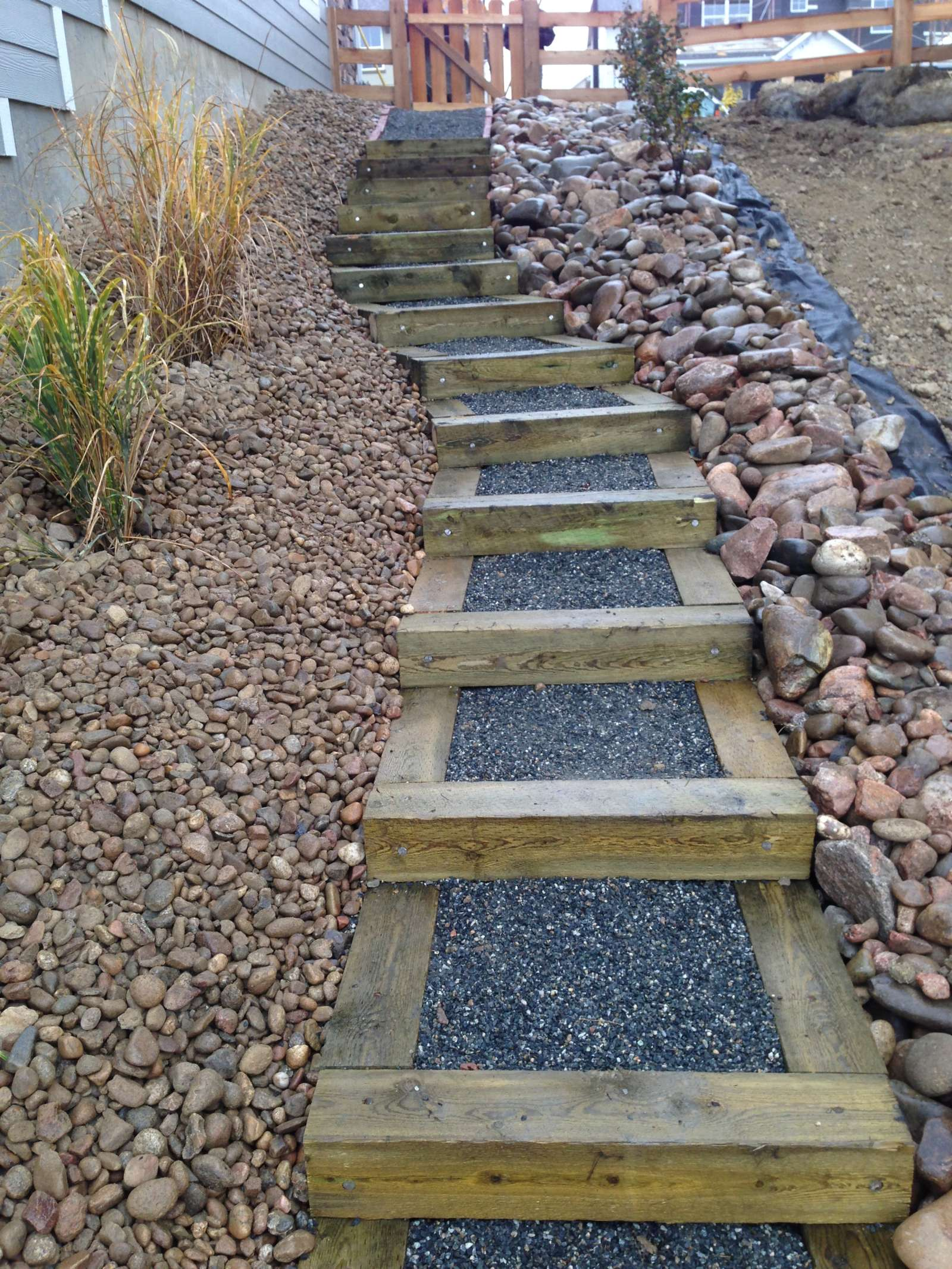 New Landscapes - Glacier View Landscape and Design, Inc. on Backyard Stairs Ideas id=12054