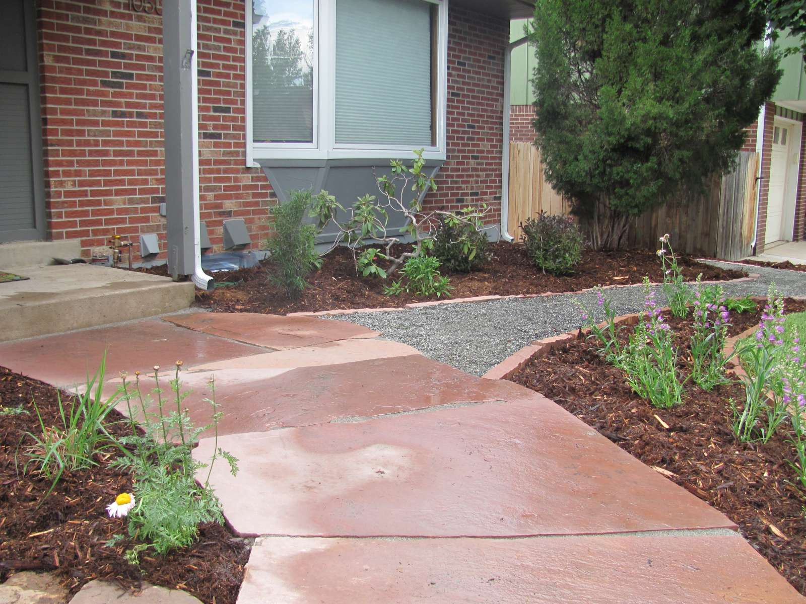 Stonework and hardscapes glacier view landscape and for Walkway landscaping