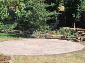 Lyons Red Flagstone Patio Addition with Polymeric Sand #2 Longmont