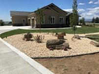 Front yard new build in Brighton, Colorado