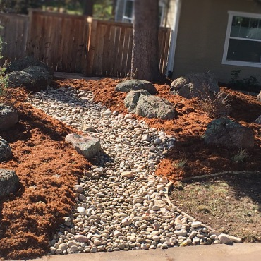 Dry Riverbed Boulder, CO landscaping Garden Design